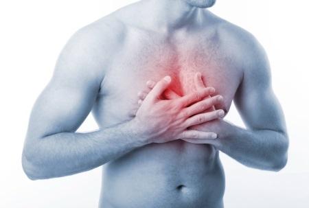 Острая боль в грудной клетке